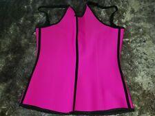 I-Glam Corset / Shoulder Shaper Halter Strap - Boned - Extra Large - Pink - BNWT
