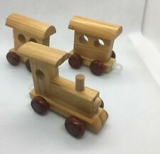 Wooden Train & Letters   B22