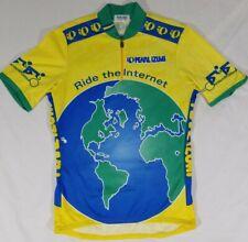 "Pearl Izumi ""Ride the Internet"" Tandem @ Hobbes Cycling Jersey 1/4 Zip Mens M"
