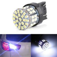 White T20 7443 W21/5W 1206 50SMD LED Car Tail Turn Braket Parking lamp Light