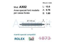 Anse speciali forti 2 pz rlx compatibili Rolex 13 mm Spring bars strong watch