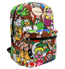 Nintendo Super Mario All Characters Digital Friendly Sublimated Backpack