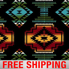 """Windrunner Native American Fleece Fabric- 60"""" Wide-Style# 34335-4 -Free Shipping"""