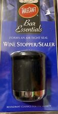 Wine Bottle Stopper Plug With Air Tight Seal Winery Sealer Top Saver Fresh NEW