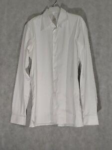 Jil Sander White Dress Shirt Stretch Size 16 1/2 | 42