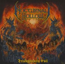 NOCTURNAL HOLLOW - Triumphantly Evil - CD - DEATH METAL