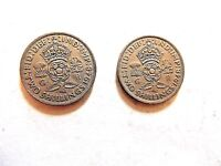 """1948 British Two (2) Shillings Coin """"One Coin Per Order"""""""