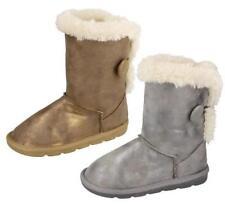 Chaussures gris à enfiler pour fille de 2 à 16 ans