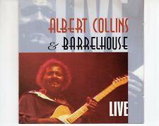 CDALBERT COLLINS & BARRELHOUSEliveEX (R2925)