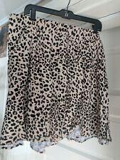 Torrid Leopard Print Skater Skirt Plus Size 3 3x