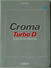FIAT croma turbo d injection directe lancement original 1988 dossier de presse en anglais