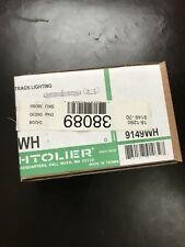 Lightolier 9149WH Radius Mini Coupler, Matte White