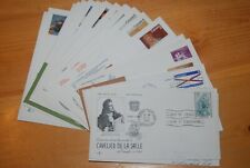 Weeda Canada Lot of 22 First Day Covers from 1966-1973