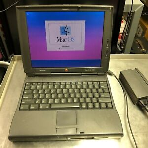 Vintage Apple Macintosh Powerbook 1400C M3571 Laptop Computer Working!