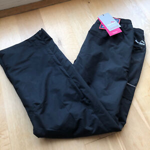 Peter Storm Ladies Walking Trousers - BLACK - Waterproof - Size 14 - Bnwt