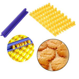 Cookie Biscuit Mould Tools Cutter Embosser Alphabet Number Letter Stamp Cake
