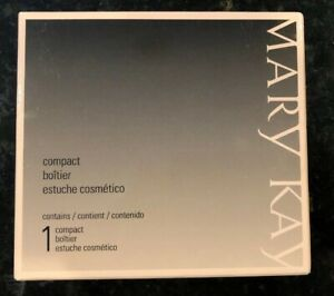 Mary Kay Compact Sleek Black & Purple #017362,  Refillable  NEW