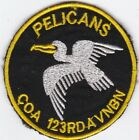 US Army Company A 123rd Aviation Battalion Pelicans Vietnam Patch #7