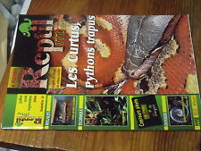 4µ? Revue Reptil Mag n°17 Mygales Aquaterium Poumon saurien  Myriapode