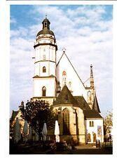 Leipzig , Thomaskirche  ,2014 gelaufene Ansichtskarte