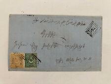 LETTRE COVER TURQUIE ISTANBUL STAMBOUL 1871