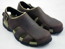 TEVA TRAVERSE Fisherman Sandals Sable/Brown Leather Size 10 NEW! HARD TO FIND