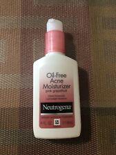 Neutrogena-Oil-Free Acne Moisturizer-pink grapefruit-4 OZ./Exp.9/21