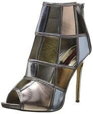 2 Lips Too Women's Too Kamikaze Boot, Metalic, Size 6.5