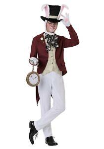 Adult Wonderland Late White Rabbit Costume SIZE S M L XL  (Used)
