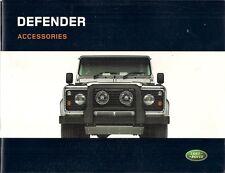 Land Rover Defender Accessories 2006-07 UK Market Sales Brochure
