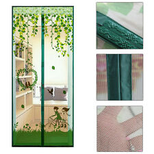 Hands Free Magic Curtain Mesh Net Screen Door Magnetic Anti Mosquito Bug Fly New