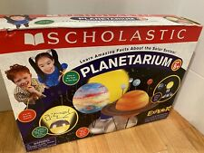 Planetarium ~Scholastic.com ~ Ages 8+  Learn Amazing Facts Solar System Gift NIB