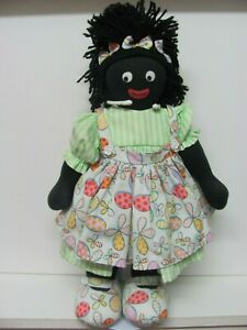 "Original Kate Finn 16"" Plush Black Cloth Doll"
