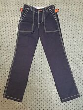 Brand New Boys Boden Johnnie B Blue Skate Pants Trousers With Stitch Detail 24L