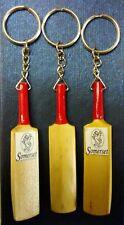 Mano tallada de madera Somerset CCC Mini Bate de Cricket LLAVERO @ sólo £ 3.50p cada uno!