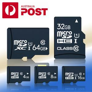 4GB/8GB/16GB/32GB/64GB Micro SD Class 10 SDHC Memory Card Flash TF New