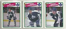 1988-89 O-PEE-CHEE Hockey Toronto Maple Leafs 12-card Team Set  Al Secord