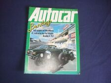 The Autocar Magazine - 9th June 1979