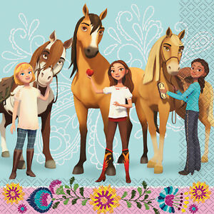 SPIRIT Horse Party Plates Napkins Banner Toys Favors Cups Decorations Lip Gloss