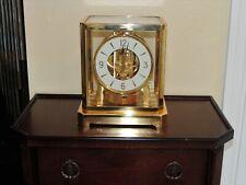 New ListingJaeger LeCoultre Atmos Clock Model 528-8 15 jewels Working No Reserve