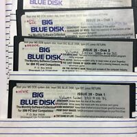 Big Blue Disk IBM Monthly Software - Lot of 29 Issues (on 62 disks) 80's 90's