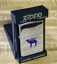 CAMEL POWERED CHROME ZIPPO LIGHTER made in USA Collectable Unused