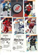 1993-94 Panini Hockey Sticker Set (300) Complete set, seldom seen