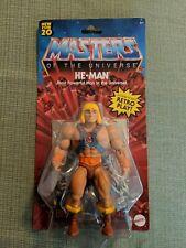 Mattel 2020 Masters of Universe Origins He-Man 5.5 Motu