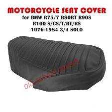 MOTORCYCLE SEAT COVER BMW R75/7 R80RT R90S R100 S/CS/T/RT/RS 76-84 3/4 SOLO SEAT