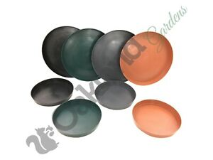 Plastic Plant Pot Saucer Round Deep 10 20 30 Litre Drip Water Tray Coloured