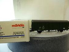 """Märklin HO 47362, """"PMS 63-08 Postmuseumswagen 1997 grün Post Museum,Neuware"""