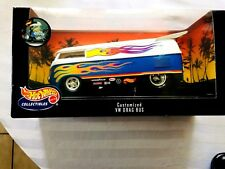 Hot Wheels 1:18 Limited Edition Customized VW Drag Bus
