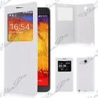 Etui Housse Coque View Case Plastique Samsung Galaxy Note 3 Neo N7505/ Lite Duos