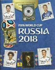 Panini WM 2018 Russia bis zu 30 Sticker aussuchen aus allen 681 Stickern +MCD --
